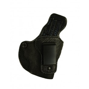 """Exotic Down Under for a Springfield XD 3"""", r/h, Cowhide w/ Shark Trim, Black, Clip"""