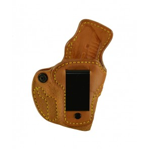 Down Under for a Ruger LCP 380, r/h, Cowhide, Natural, Clip