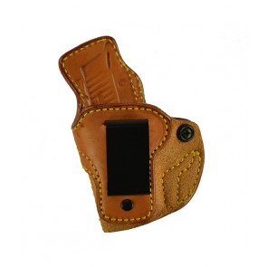 Down Under for a Sig 938, l/h, Cowhide, Natural, Clip