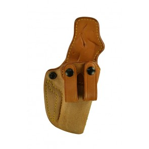 """Down Under for a 1911 4"""", 4.25"""", r/h, Cowhide, Natural, Straps"""