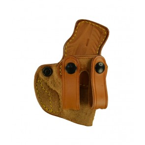 Down Under for a Ruger LCP II, r/h, Cowhide, Natural, Straps
