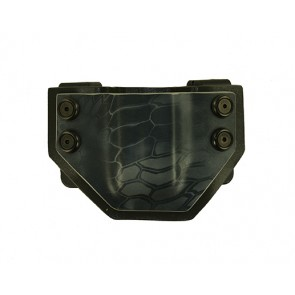 "OWB Extreme Magazine Carrier for a Walther PPQ 4"" 9mm, l/h draw, Kydex, Typhon Front/Gray Back, Straight Drop"