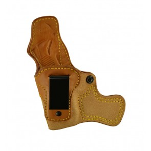 "Tail Gunner for a 1911 3"", l/h, Cowhide, Natural, Clip"