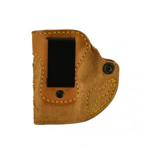 """Hideaway for a Springfield XDS 9,40,45 3.3"""", l/h, Cowhide, Natural, Clip"""