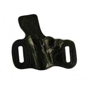 Slide Guard for a Sig 938, l/h, Cowhide, Black, Unlined