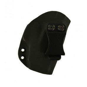 Reaction Lite for a S&W M&P Shield 9,40 M2.0 w/ Integrated Crimson Trace Laser, r/h, Kydex, Black, Canted, Clip