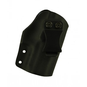 """Reaction Lite for a H&K P30SK 3.27"""", r/h, Kydex, Black, Canted, Clip"""