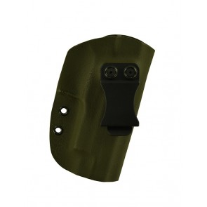 """Reaction Extreme for a Sig 220R 4.4"""", r/h, Kydex, OD Green, Canted, Clip"""