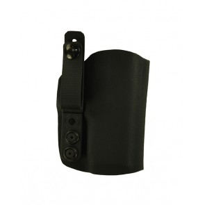 """Instinct Lite for a Springfield XDE 9mm, 3.3"""", r/h, Kydex, Black, Straight Drop, Strap"""
