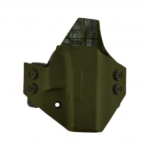 Baseline for a Glock 36, r/h, Kydex, OD Green, Straight Drop