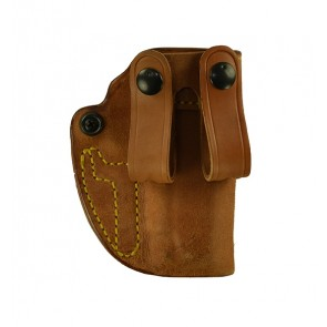 "Hideaway for a 1911 3.5"", r/h, Horsehide, Natural, Straps"