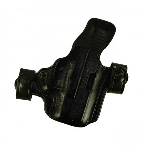 Snapper for a Glock 26,27,33, r/h, Cowhide, Black, Unlined