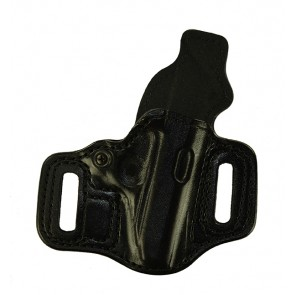 Slide Guard for a Sig 230,232, r/h, Cowhide, Black, Lined