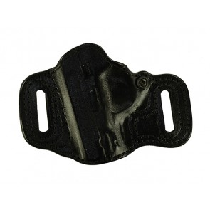 "Topless for a S&W M&P Shield 3.1"", l/h, Cowhide, Black, Lined"