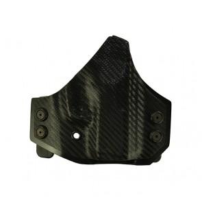 Perimeter for a Kahr PM 9, r/h, Kydex, Carbon Fiber Front, Black Back, Straight Drop