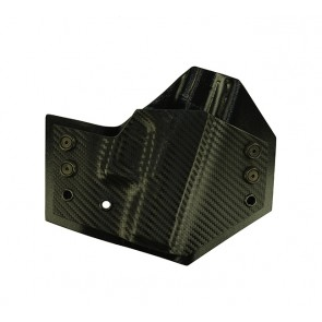 Perimeter for a Glock 42, r/h, Carbon Fiber Front, Black Back, Cant