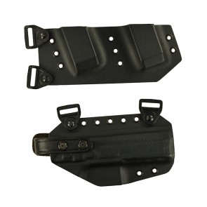 """Equalizer for a CZ P07 Duty 4.53"""", r/h, Kydex, Black with harness"""