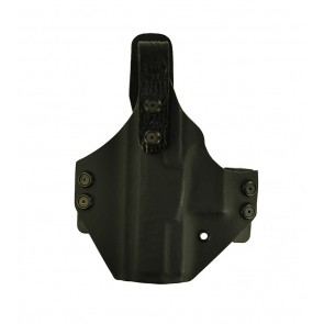 """War Hammer Extreme for a Walther PPQ 4"""", l/h, Kydex, Black, Straight Drop, Shark Embossed Thumb Break"""