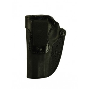 Hideaway for a Browning Hi Power, l/h, Horsehide, Black, Clip