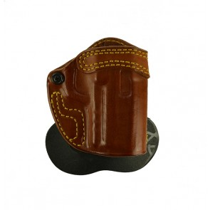 "Speedy Spanky for a H&K 45C 3.94"", r/h, Cowhide, Tan, Unlined"