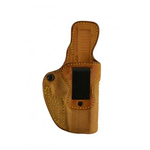 Public Secret for a Glock 17,22,31, r/h, Cowhide, Natural, Clip
