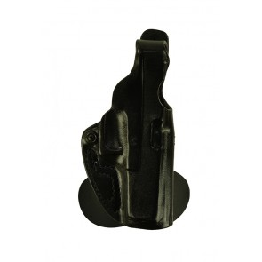 Spanky for a Glock 20,21, r/h, Cowhide, Black, Unlined