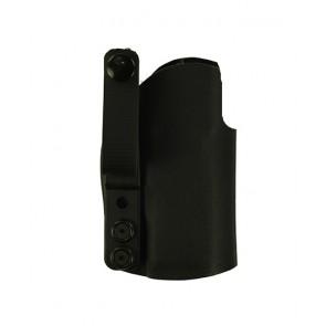 "Instinct Lite for a Sig 320 C 3.9"" w/ Trijicon RMR Sight, r/h, Black Kydex, Straight Drop, Webbing Belt Strap"