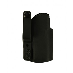 Instinct Medium for a Sig 224, RMR site, r/h, Black Kydex, Straight Drop, Webbing Belt Strap