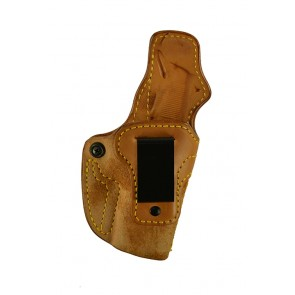 """Down Under for a 1911 4"""", 4.25"""", r/h, Cowhide, Natural, Clip"""