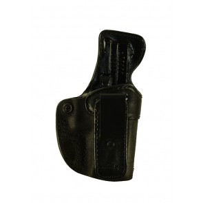 "Closing Argument for a Springfield XD 4"", r/h, Cowhide, Black, Tuckable"