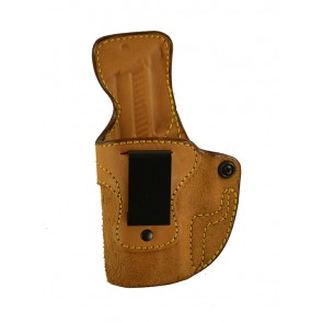 Public Secret for a Sig 229R, l/h, Cowhide, Natural, Clip