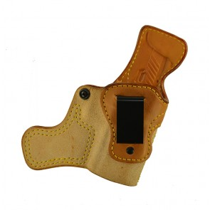 """Tail Gunner for a Sig 320 C 3.9"""", r/h, Cowhide, Natural, Clip"""