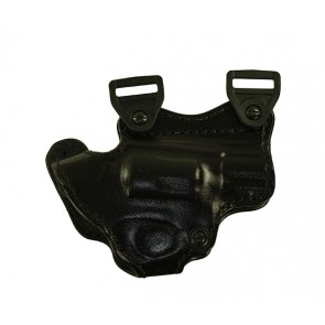 Under Taker Holster only for a Taurus 85, r/h, Cowhide, Black, Lined