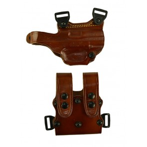 """Under Taker for a FNH FNX 9,40 4"""", r/h, Cowhide, Tan, Unlined"""