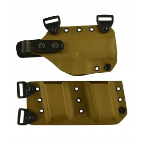 """Equalizer for a H&K 45C 3.94"""", r/h, Kydex, Coyote Brown (with harness)"""