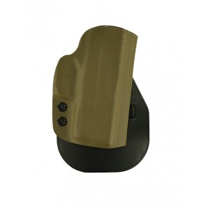 """Zero Tolerance Medium for a Springfield XDS 3.3"""", r/h, Kydex, Gray, Paddle, Canted"""