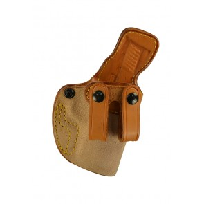 """Down Under for a S&W M&P Compact 3.5"""", r/h, Cowhide, Natural, Straps"""