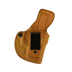 Down Under for a Glock 26,27,33, r/h, Cowhide, Natural, Clip