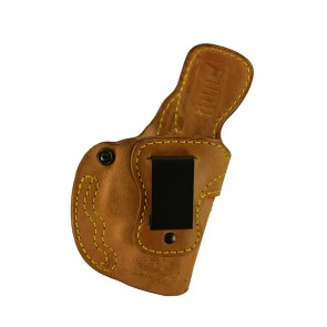 Down Under for a Glock 19,23,32 w/ Crimson Trace, r/h, Horsehide, Natural, Clip