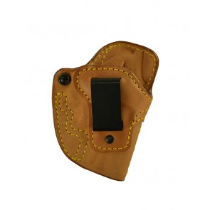 Down Under for a S&W J Frame (36,60,340,442,etc.), r/h, Horsehide, Natural, Clip