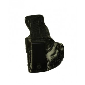Public Secret for a Sig 365, l/h, Cowhide, Black, Clip, Smooth Side Out