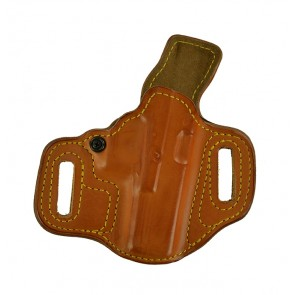 Slide Guard for a Glock 17,22,31, r/h, Cowhide, Natural, Lined