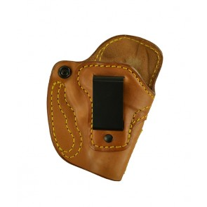 Down Under for a S&W J Frame (36,60,442,640,etc.), r/h, Horsehide, Natural, Clip