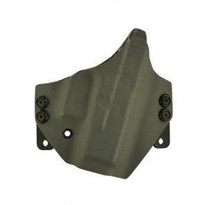 Hooker for a Glock 26,27,33, r/h, Kydex, Gray, Canted