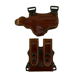 """Under Taker for a 1911 5"""", r/h, Cowhide, Tan, Lined"""