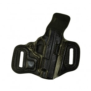 """Slide Guard for a Springfield XDS 4"""", r/h, Black, Cowhide, Unlined"""