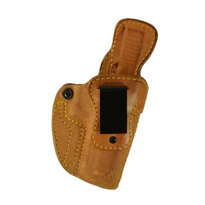 Down Under for a Glock 20,21, r/h, Cowhide, Natural, Clip