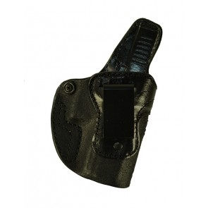 Down Under for a Glock 19,23,32, r/h, Cowhide, Black, Clip - Tapered Sweat-shield