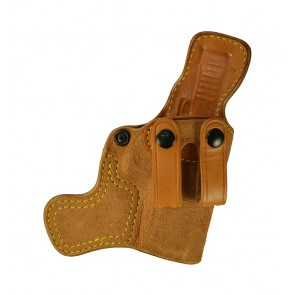 Tail Gunner for a Glock 19,23,32, r/h, Cowhide, Natural, Straps