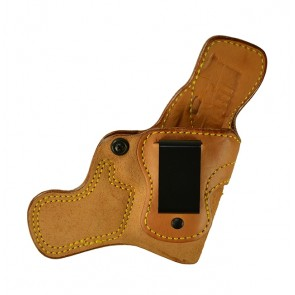 """Tail Gunner for a Springfield XDS 3.3"""", r/h, Cowhide, Natural, Clip"""